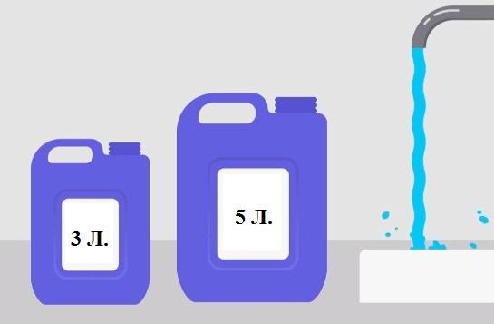 Ответ про канистры 4 литра