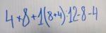 Ответ на математические задачки