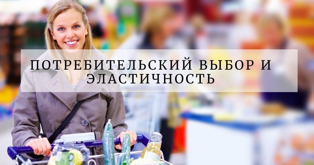 Эластичность и потребительский выбор