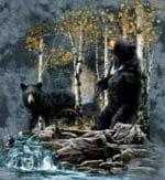 Сколько медведей Вы видите на картинке?