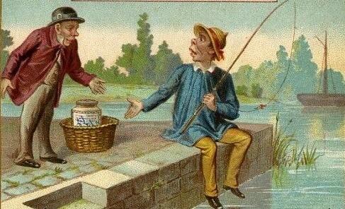Где рыба на картинке?
