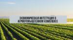 Экономическая интеграция в АПК: понятие, цели