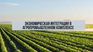 Экономическая интеграция в АПК: понятие и цели