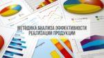 Методика анализа эффективности реализации продукции