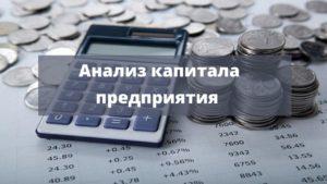 Методы анализа капитала предприятия