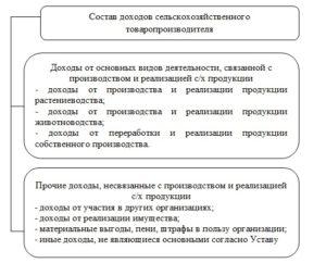 Состав доходов предприятия АПК
