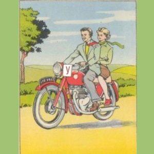 В чем нарушения мотоциклиста?